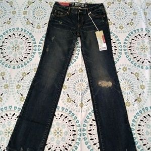 Mossimo Lowest rise Skinny Jeans Straight bootcut